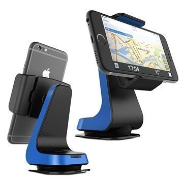 "VRS Design Hybrid Grab Universaali Ã""lypuhelimen Autoteline Sininen"