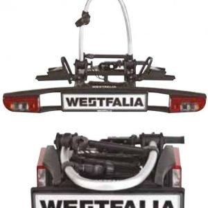 Westfalia polkupyöräteline vetokoukkuun 2 pyörälle