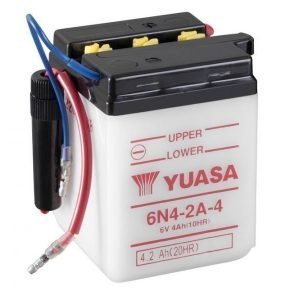 Yuasa 6N4-2A-4 4Ah Conventional 6V Käynnistysakku