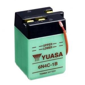 Yuasa 6N4C-1B 4Ah Conventional 6V Käynnistysakku