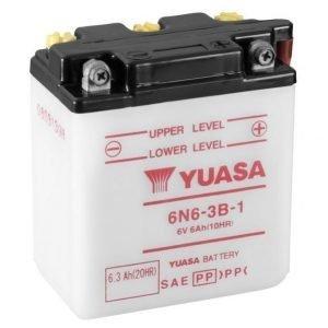 Yuasa 6N6-3B-1 6Ah Conventional 6V Käynnistysakku