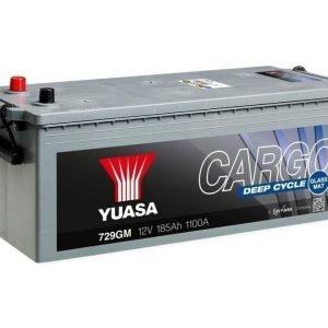 Yuasa 729GM 12V 185Ah 1100CCA Cargo Deep Cycle Glass Mat Käynnistysakku