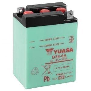 Yuasa B38-6A 13Ah Conventional 6V Käynnistysakku