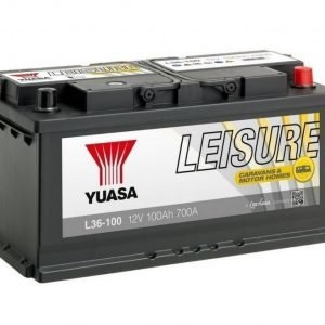 Yuasa L36-100 12V 100Ah 700CCA Leisure akku
