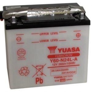 Yuasa Y60-N24L-A 28Ah Yumicron Käynnistysakku