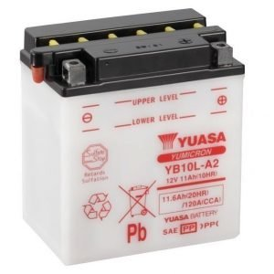 Yuasa YB10L-A2 11Ah Yumicron Käynnistysakku