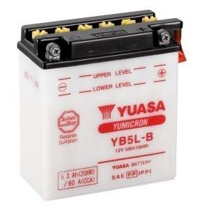 Yuasa YB5L-B 5Ah Yumicron Käynnistysakku