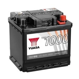 Yuasa YBX1012 12V 45Ah 380CCA CaCa Käynnistysakku