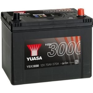 Yuasa YBX3030 12V 70Ah 570CCA SMF Käynnistysakku