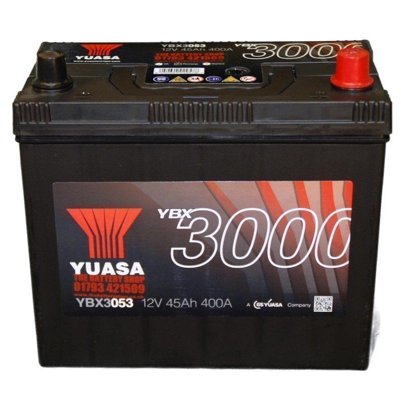 Yuasa YBX3053 12V 45Ah 400CCA SMF Käynnistysakku