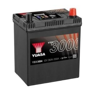 Yuasa YBX3054 12V 36Ah 330CCA SMF Käynnistysakku