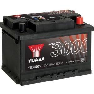 Yuasa YBX3065 12V 56Ah 500CCA SMF Käynnistysakku