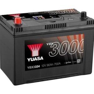 Yuasa YBX3334 12V 90Ah 700CCA SMF Käynnistysakku