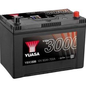 Yuasa YBX3335 12V 90Ah 700CCA SMF Käynnistysakku