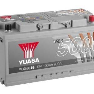 Yuasa YBX5019 12V 100Ah 900CCA Silver High Perfomance SMF Käynnistysakku