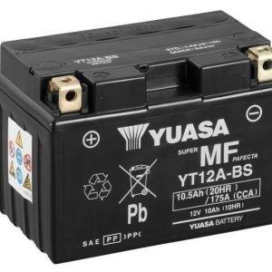 Yuasa YT12A-BS 10Ah Maintenance Free Käynnistysakku
