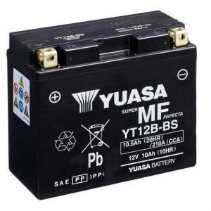 Yuasa YT12B-BS 10Ah Maintenance Free Käynnistysakku