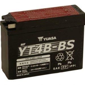 Yuasa YT4B-BS 2 3Ah Maintenance Free Käynnistysakku