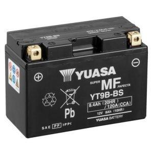 Yuasa YT9B-BS 8Ah Maintenance Free Käynnistysakku