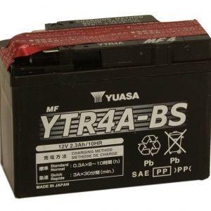 Yuasa YTR4A-BS 2 3Ah Maintenance Free Käynnistysakku