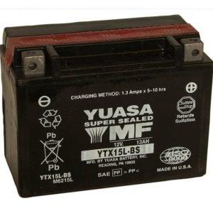 Yuasa YTX15L-BS 13Ah Maintenance Free Käynnistysakku