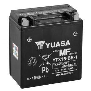 Yuasa YTX16-BS-1 14Ah Maintenance Free Käynnistysakku