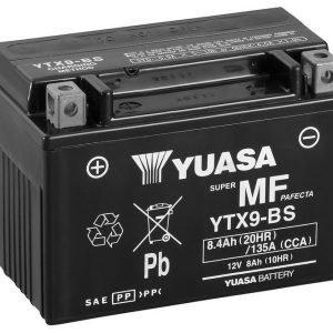 Yuasa YTX9-BS 8Ah Maintenance Free Käynnistysakku
