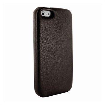 iPhone 5 / 5S / SE Piel Frama FramaGrip Nahkakotelo Ruskea
