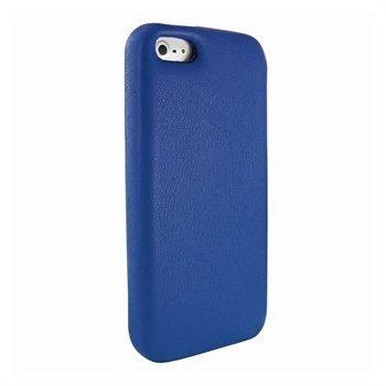 iPhone 5 / 5S / SE Piel Frama FramaGrip Nahkakotelo Sininen