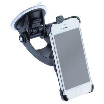 iPhone 5 / 5S / SE iGrip T5-94800 Matkasetti / Autoteline Musta