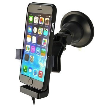iPhone 6 / 6S Fix2Car Aktiivinen Autopidike Musta