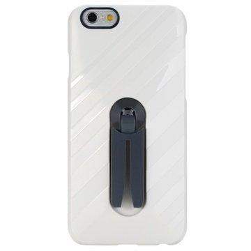 iPhone 6 / 6S Rock Air Vent Mount Kova Kotelo Valkoinen